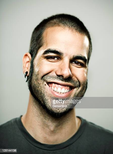 big smile - body piercings stock pictures, royalty-free photos & images
