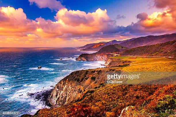 big south, california - big sur stock photos and pictures