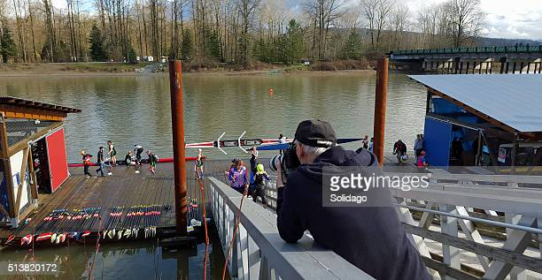 Big Spotlight On The Local Small Town Rowing Regatta