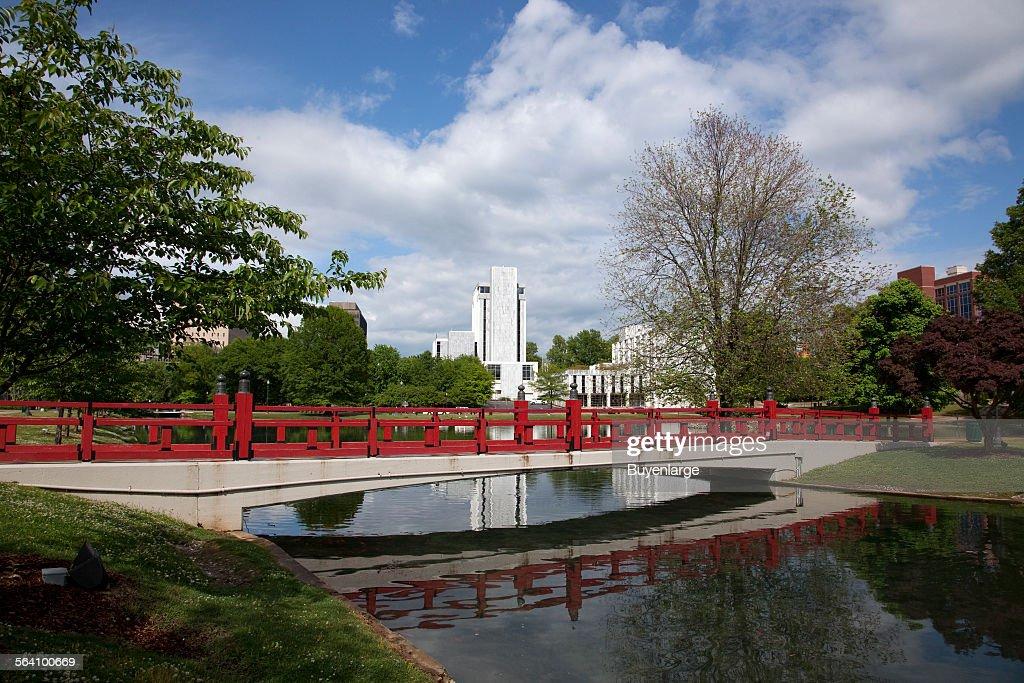 Big Spring Park in Huntsville, Alabama : News Photo