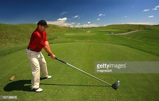 big stick - golf lustig stock-fotos und bilder