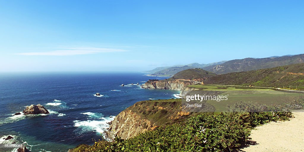 Big Sur - California Central Coastline : Stock Photo