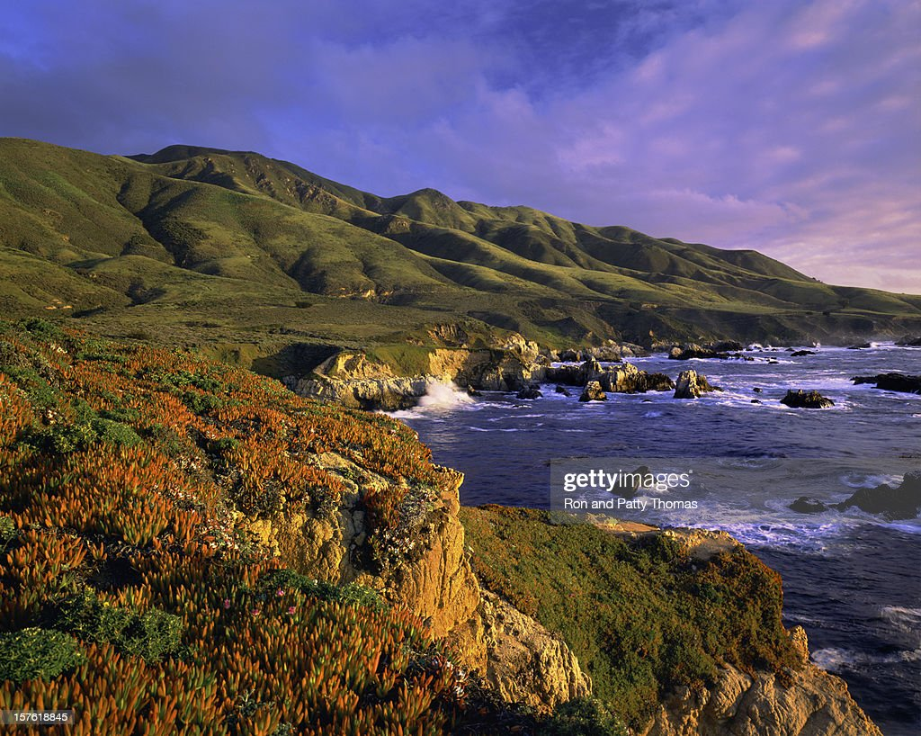 Big Sur Coast Of California : Stock Photo
