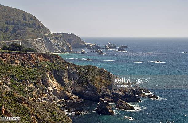 Big Sur, scenic Highway 1. Pacific ocean, south of Monterey, California, USA