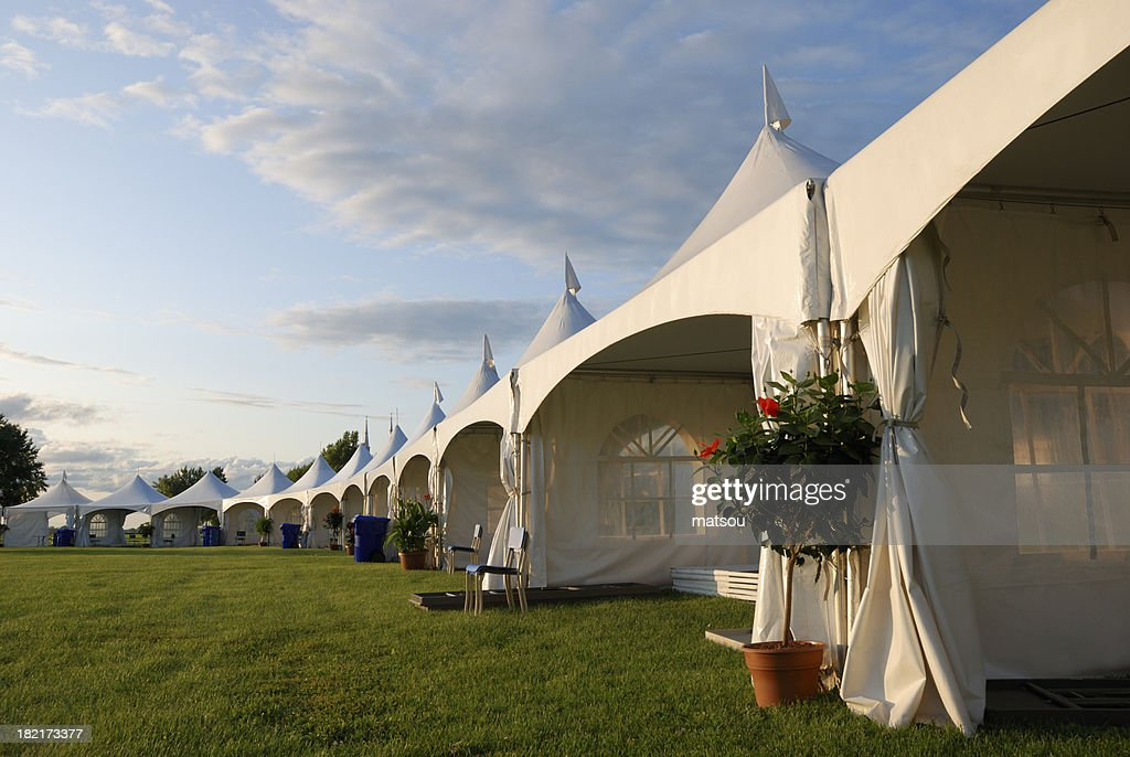 Big tent event. & Big Tent Event Stock Photo | Getty Images