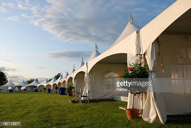 big tent event. - tent stock pictures, royalty-free photos & images