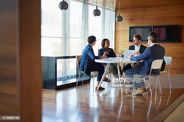 big things are done in the boardroom - conference table stock pictures, royalty-free photos & images