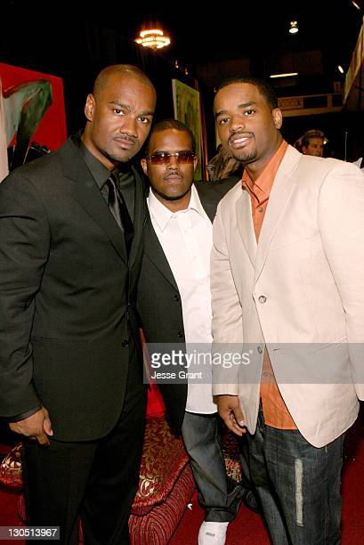 Big Tigger Lahmard Tate and Larenz Tate during 6th Annual BET Awards Backstage Creations The Retreat Day Two at Shrine Expo Hall in Los Angeles...