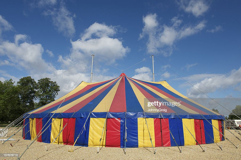 Big Top circus tent : Stock Photo