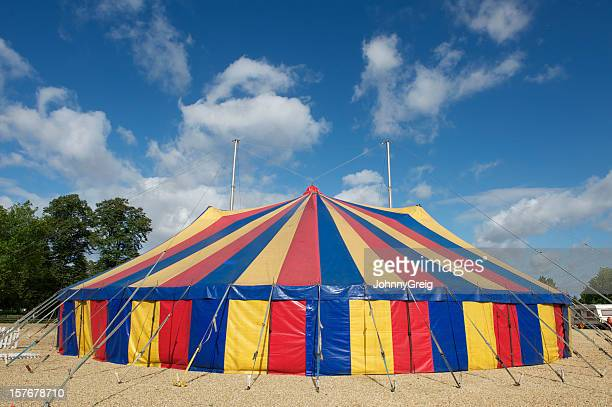 grande top tendone di circo - tendone di circo foto e immagini stock