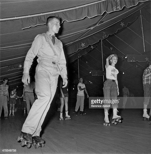 Big Top Roller Rink Augusta Georgia United States 1954