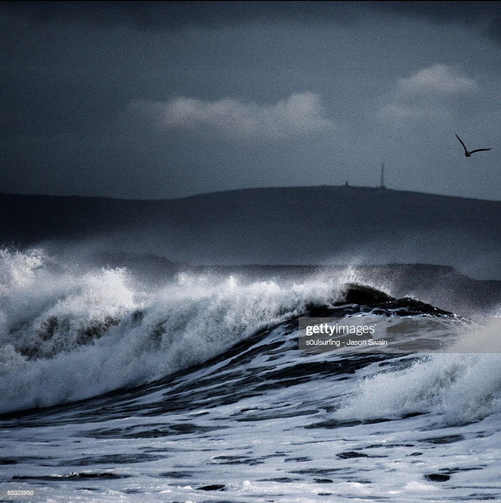 Big wave Blues : Stock Photo