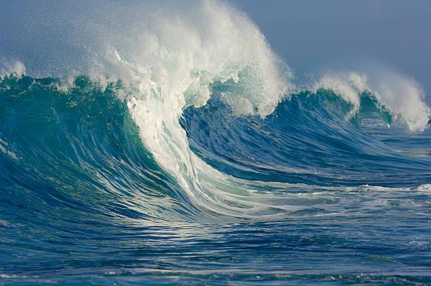 Big wave, Oahu, Hawaii, USA