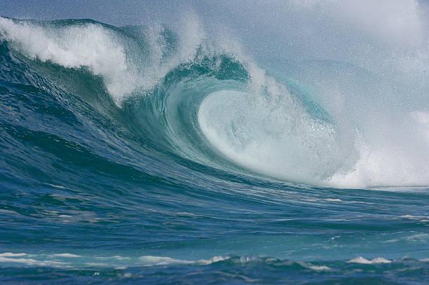 Big wave, Pacific Ocean