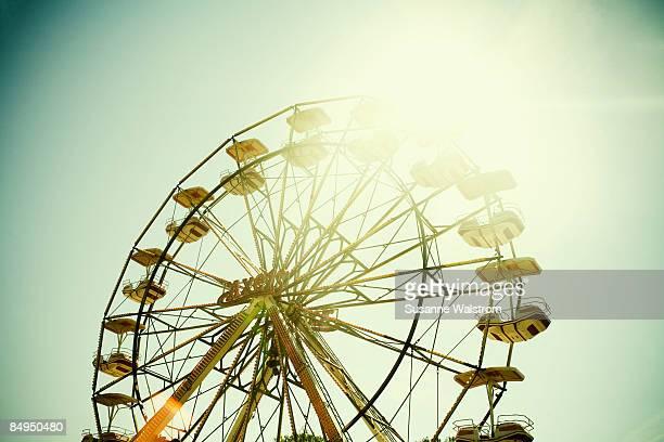 A big wheel in an amusement park Sweden.