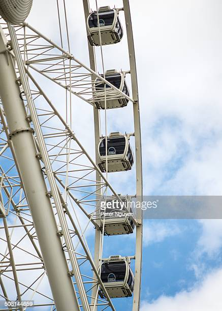 CONTENT] Big wheel in the centre of Piccadilly Gardens Manchester
