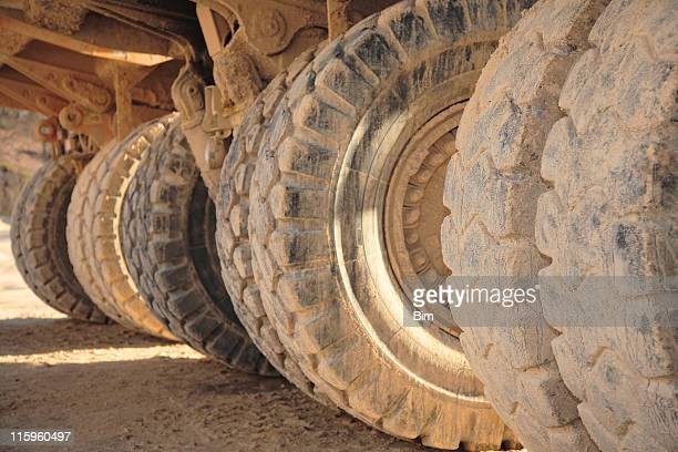 Big Wheel of Heacy Duty Dump Trucks