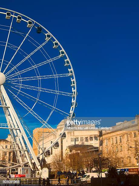 CONTENT] A big wheel placed in Picadilly Gardens square in Manchester
