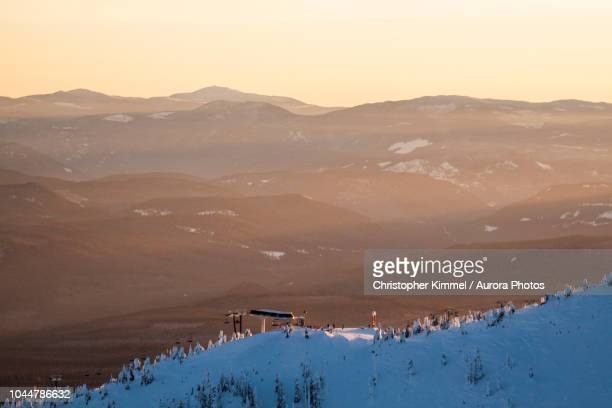 big white mountain, british columbia, canada - kelowna stock pictures, royalty-free photos & images