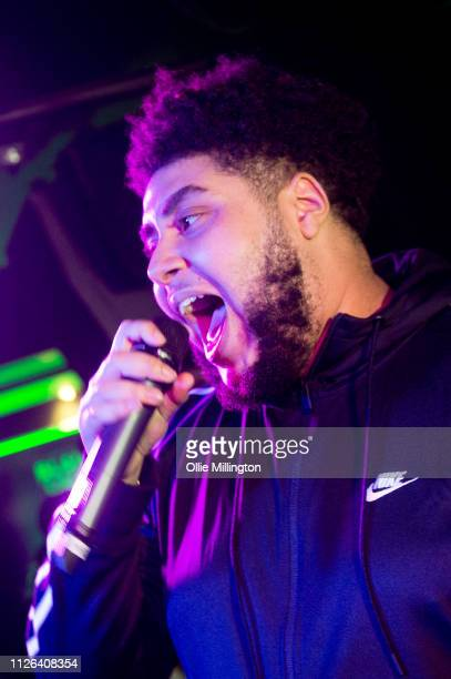 Big Zuu of the MTP collective performs during Grime Aid 2019 at The Ace Hotel on February 20 2019 in London England