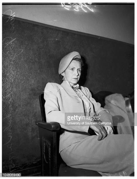 Bigamy, 17 August 1951. Mrs Virginia Denholm ;George Denholm;Linda Rohr ..