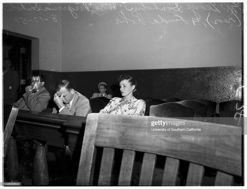 Bigamy, 1951 : ニュース写真