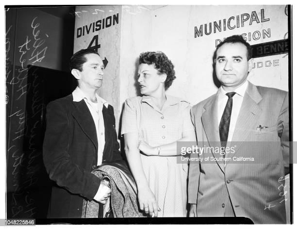 Bigamy 2 April 1952 Alice B Smith Andrew Blair Second husbandAttorney Albert Simon
