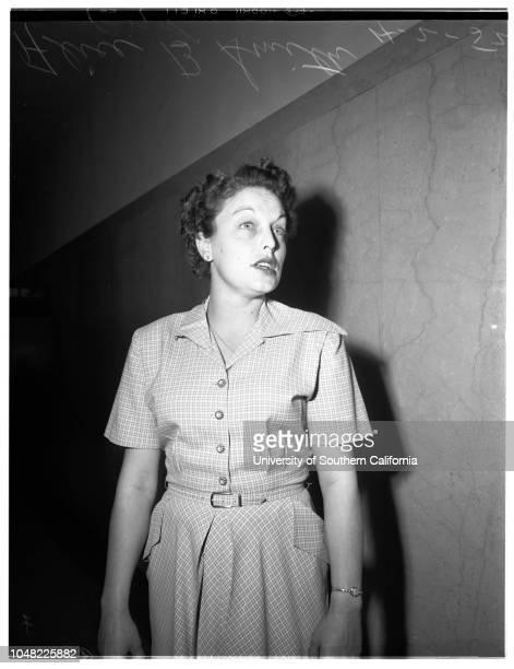 Bigamy, 2 April 1952. Alice B Smith ;Andrew Blair -- Second husband;Attorney Albert Simon..
