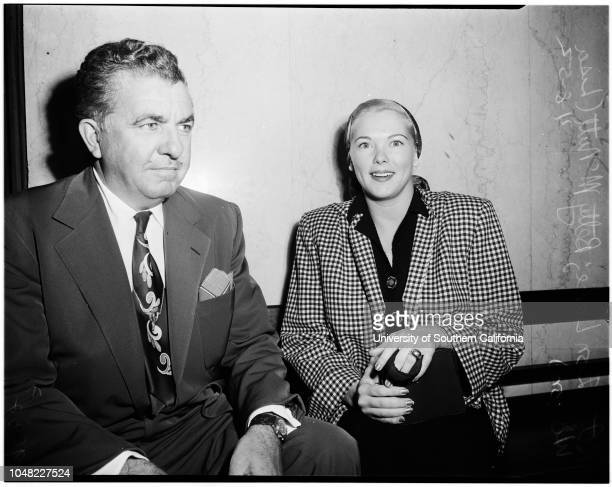 Bigamy case, 08 April 1952. Attorney Don Lake;Betty McNutt ..