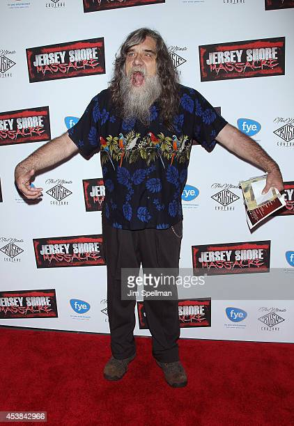 Bigfoot attends the Jersey Shore Massacre New York Premiere at AMC Lincoln Square Theater on August 19 2014 in New York City
