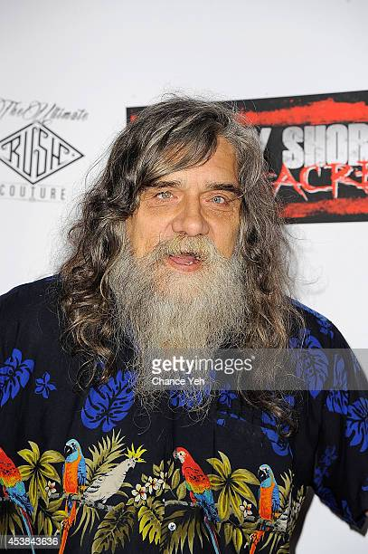 """Bigfoot attends the """"Jersey Shore Massacre"""" New York Premiere at AMC Lincoln Square Theater on August 19, 2014 in New York City."""