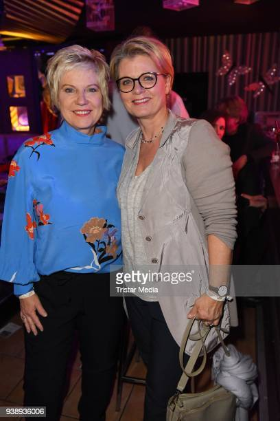 Biggi Birgit Lechtermann and Andrea Spatzek attend the 'Tivoli Cologne' Opening on March 27 2018 in Cologne Germany