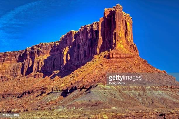 bighorn mesa - canyonlands national park stock pictures, royalty-free photos & images