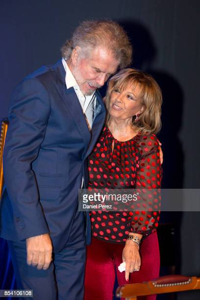 Bigote Arrocet and Maria Teresa Campos attend the appointment of Dani Rovira and Maria Teresa Campos Favorite and Adopted Sons of Malaga on September...