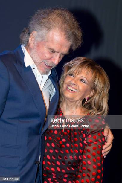 Bigote Arrocet and Maria Teresa Campos attend the appointment of Dani Rovira and Maria Teresa Campos as favorite and adopted sons of Malaga of Malaga...