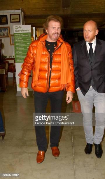 Bigote Arrocet attends the charity market 'Rastrillo Nuevo Futuro' on November 24 2017 in Madrid Spain
