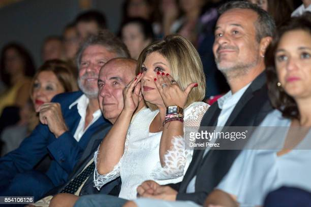 Bigote Arrocet Gregorio Sanchez Fernandez 'Chiquito de la Calzada' and Terelu Campos attend the appointment of Favorite And Adopted Sons of Malaga on...