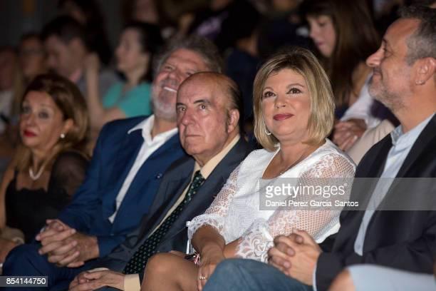 Bigote Arrocet Gregorio Sanchez Fernandez 'Chiquito de la Calzada' and Terelu Campos attend the appointment of Dani Rovira and Maria Teresa Campos as...