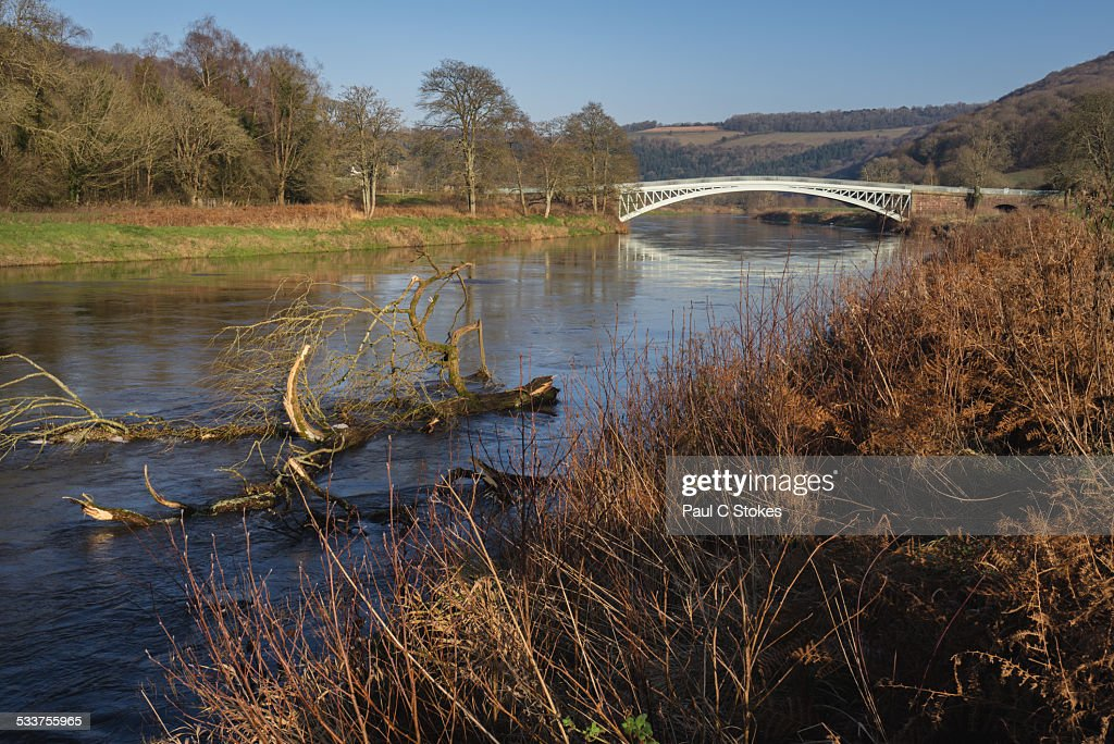 Bigsweir Bridge : Foto stock