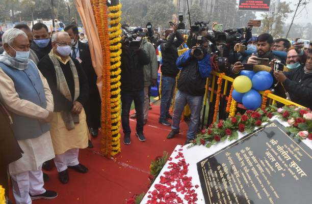 IND: Bihar CM Nitish Kumar Inaugurates Road Linking R-Block To Digha