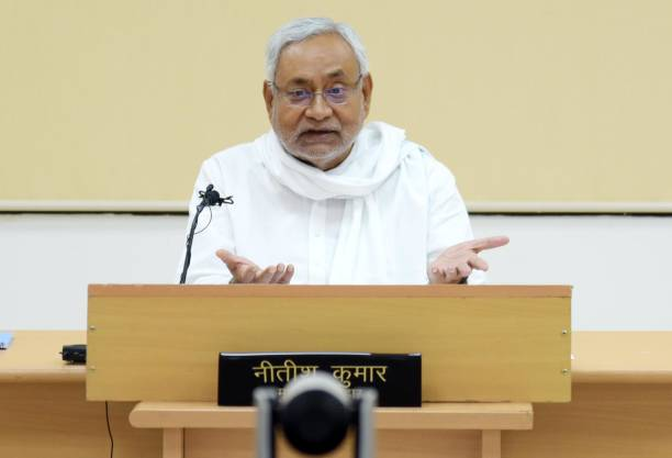 IND: Bihar Chief Minister Nitish Kumar Chairs An Awareness Campaign On Coronavirus Through Video Conferencing