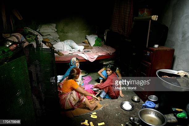 A Bihari family Also known as Stranded Pakistanis they are the nonBengali citizens who opposed independence of Bangladesh during the liberation war...