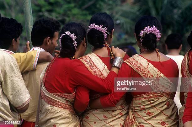 Bihu dance folk dance of Assam India