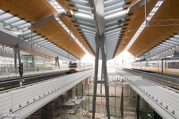 Bijlmer Arena Amsterdam Netherlands Architect Grimshaw Bijlmer Arena View Between The Tracks