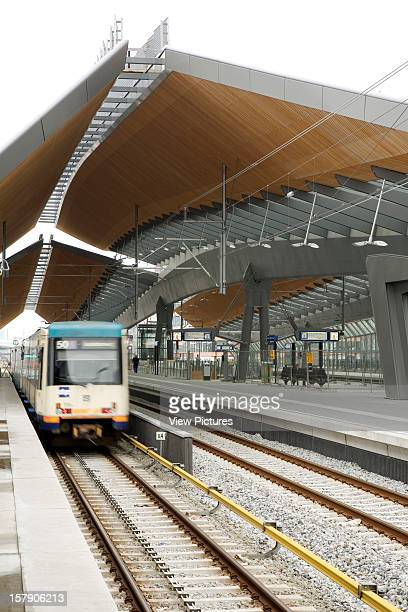Bijlmer Arena Amsterdam Netherlands Architect Grimshaw Bijlmer Arena Train Under The Canopy
