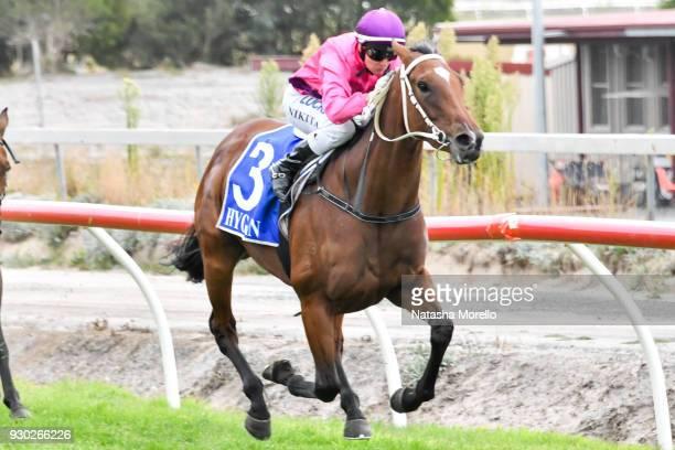 Bijou Belle ridden by Nikita Beriman wins the Danny O'Brien MP BM58 Handicap at Stony Creek Racecourse on March 11 2018 in Stony Creek Australia