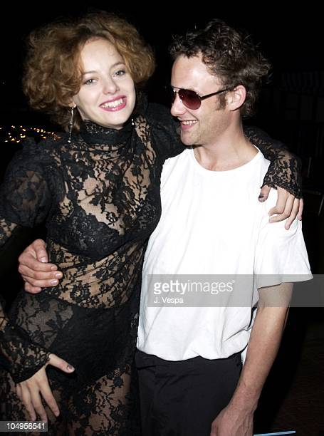 Bijou Phillips and Brad Renfro during Venice 2001 Bully Party at Pachuka in Venice Lido Italy