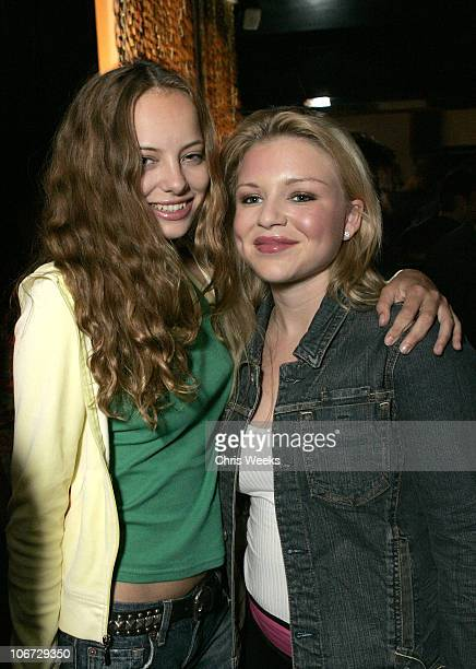 """Bijou Phillips and Casey Johnson during Svedka Vodka Presents the """"Erotica Reading Series"""" Featuring Aisha Tyler at Monroe's in West Hollywood,..."""