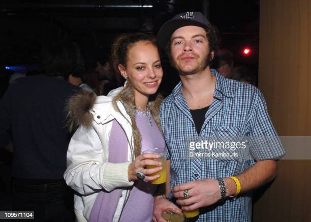Bijou Phillips and Danny Masterson during 2005 Park City Motorola Late Night Lounge Sponsored by Motorola and Splinter Cell Chaos Theory at Motorola...