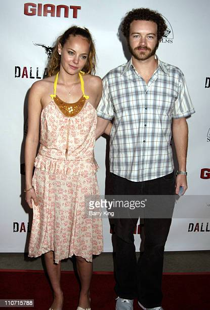 Bijou Phillips and Danny Masterson during Dallas 362 Los Angeles Premiere Arrivals at The ArcLight in Hollywood California United States